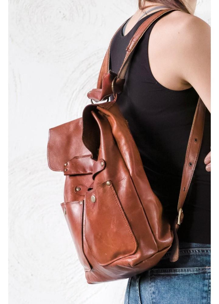 Рюкзак из натуральной кожи Хлоя