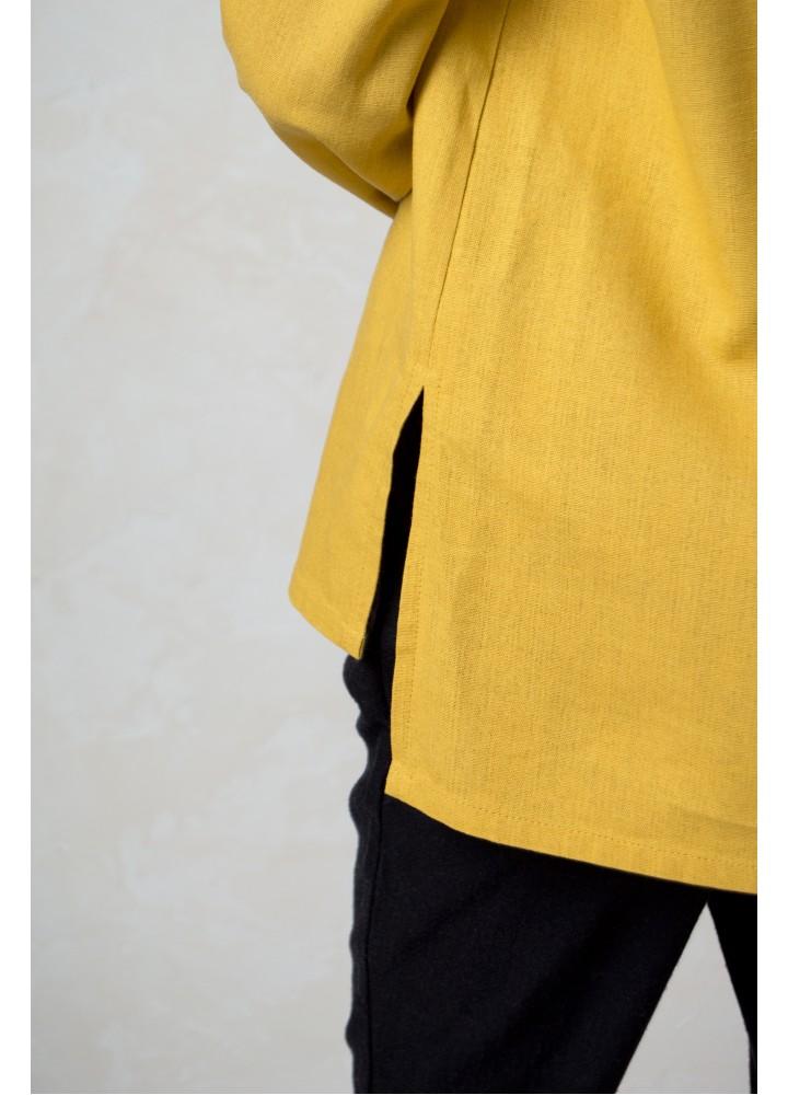 Блуза из льна