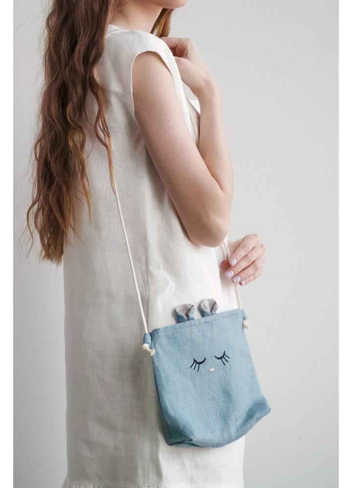 Льняная сумочка