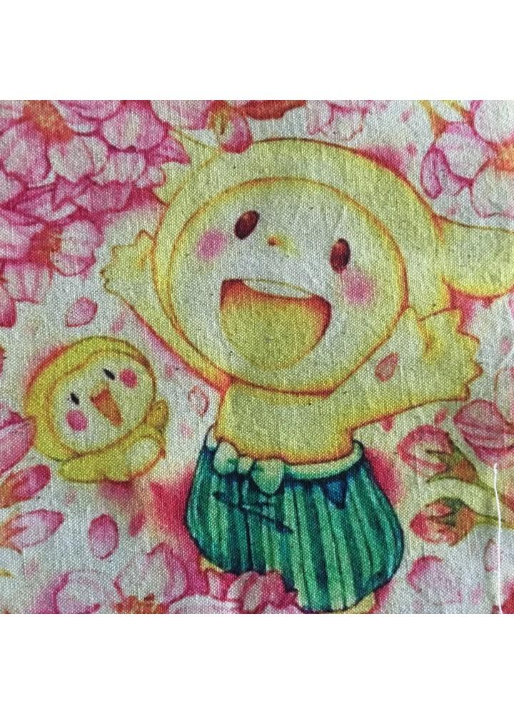 Японский фартук-полотно детский