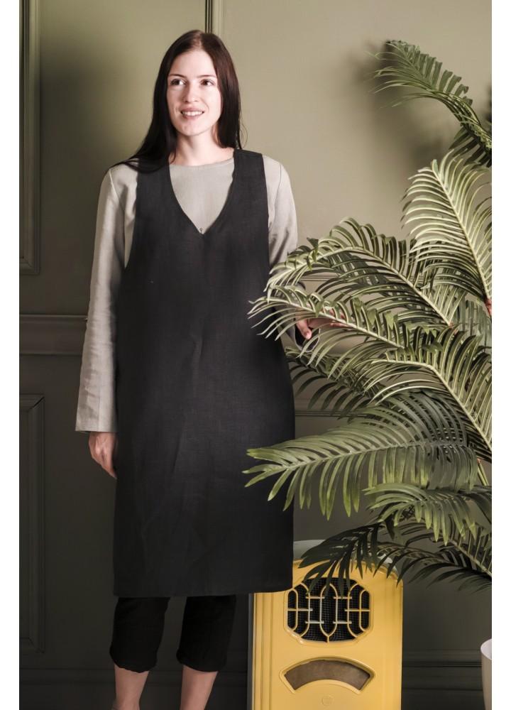 Удлинённый фартук-платье