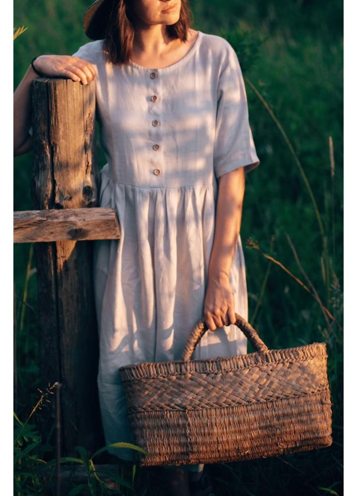 """Льняное платье """"Утро"""""""