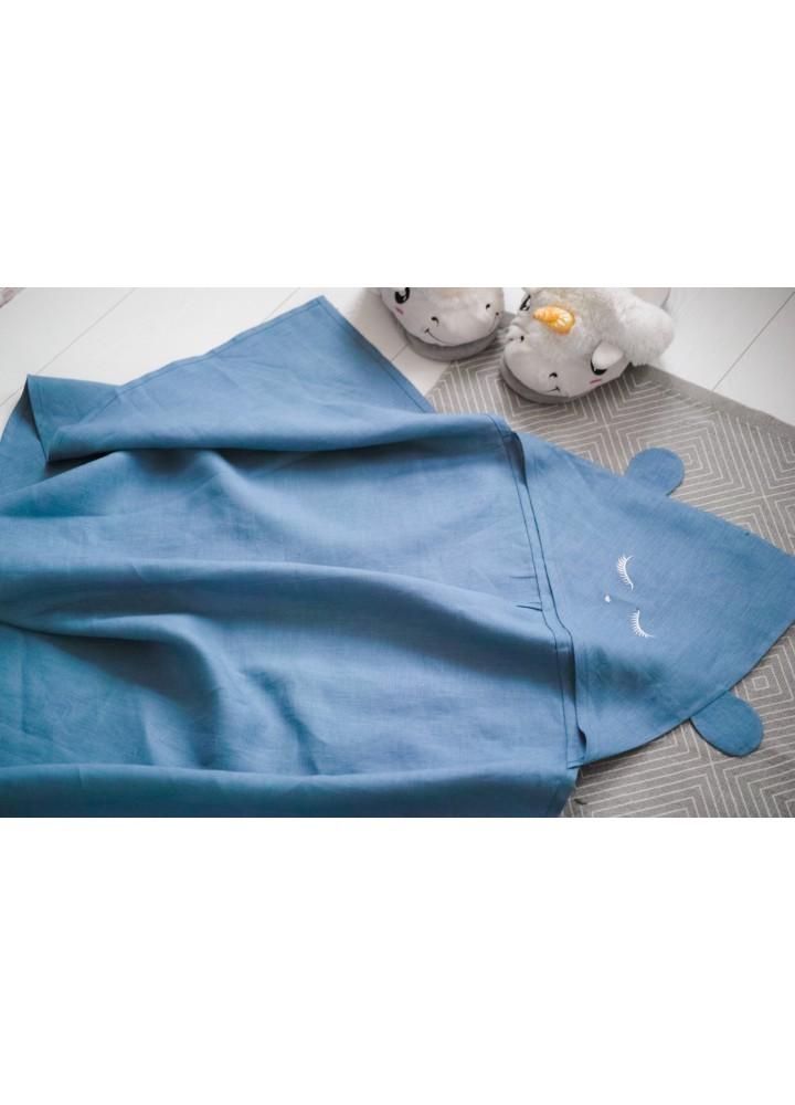 Детское полотенце с капюшоном Миша