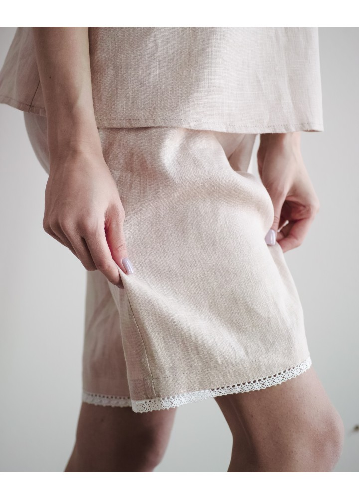 """Пижама из льна """"Нежность"""""""