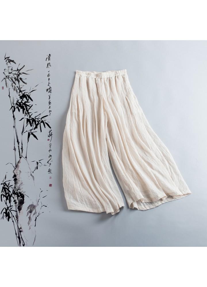 Юбка-шорты из тонкого хлопка